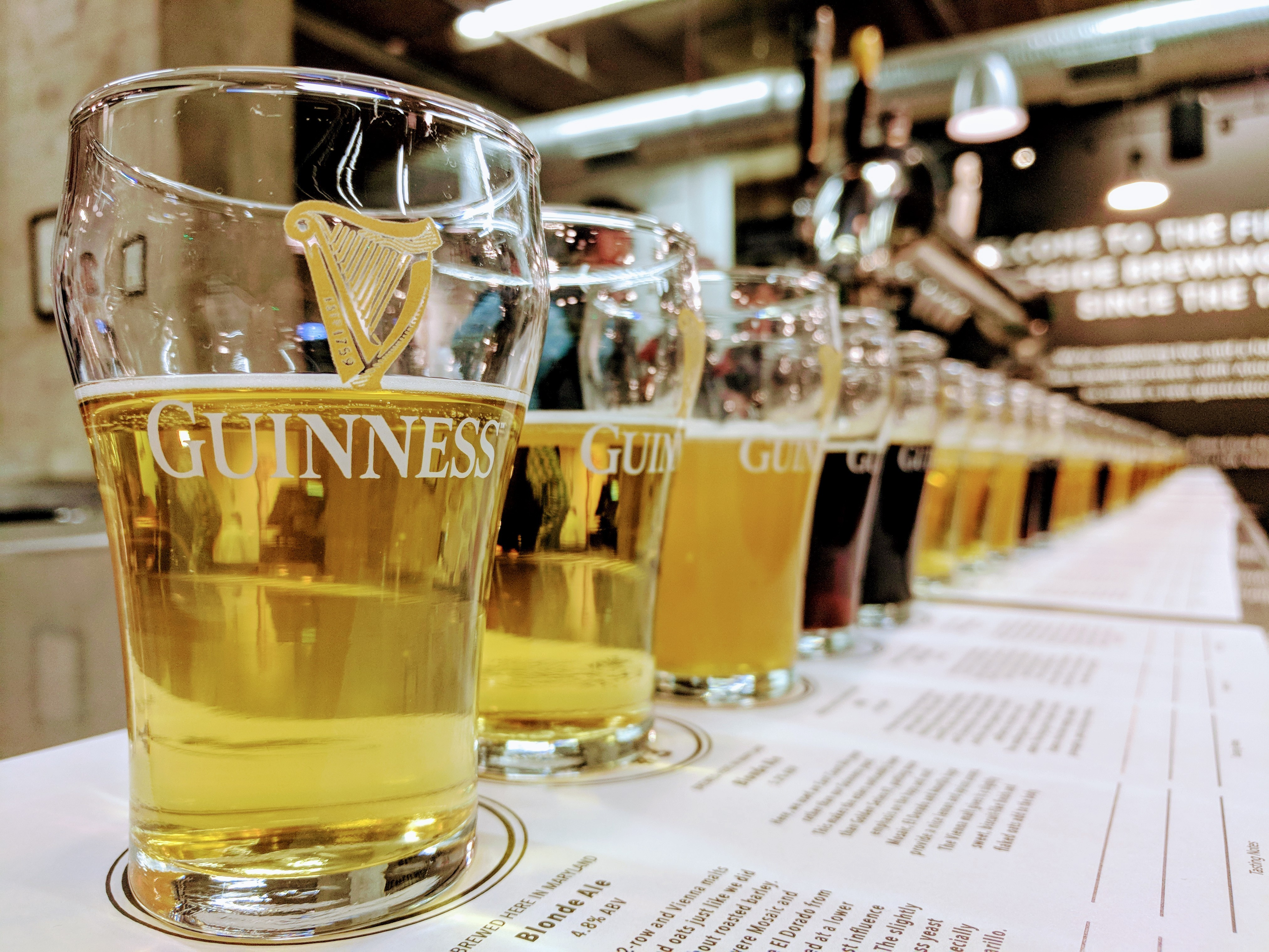 Guinness Brewery and Barrel House Tour and Tasting Group 1