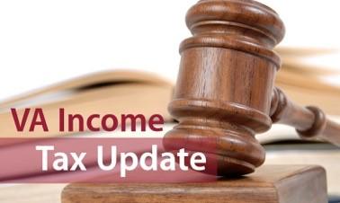 Virginia Income Tax Update, MD