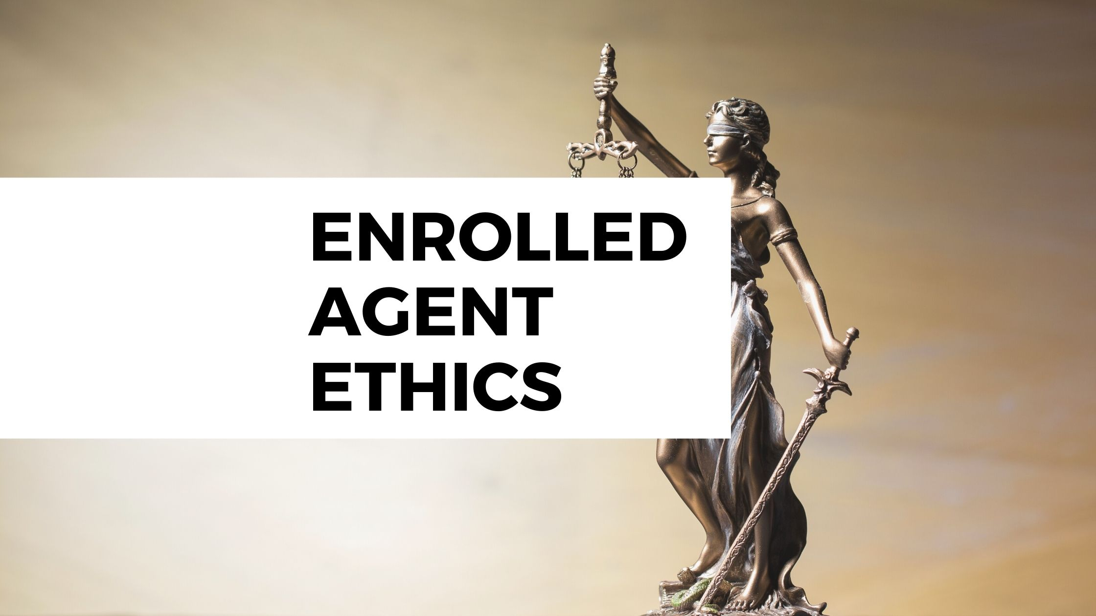 Enrolled Agent Ethics, June, Columbia, MD