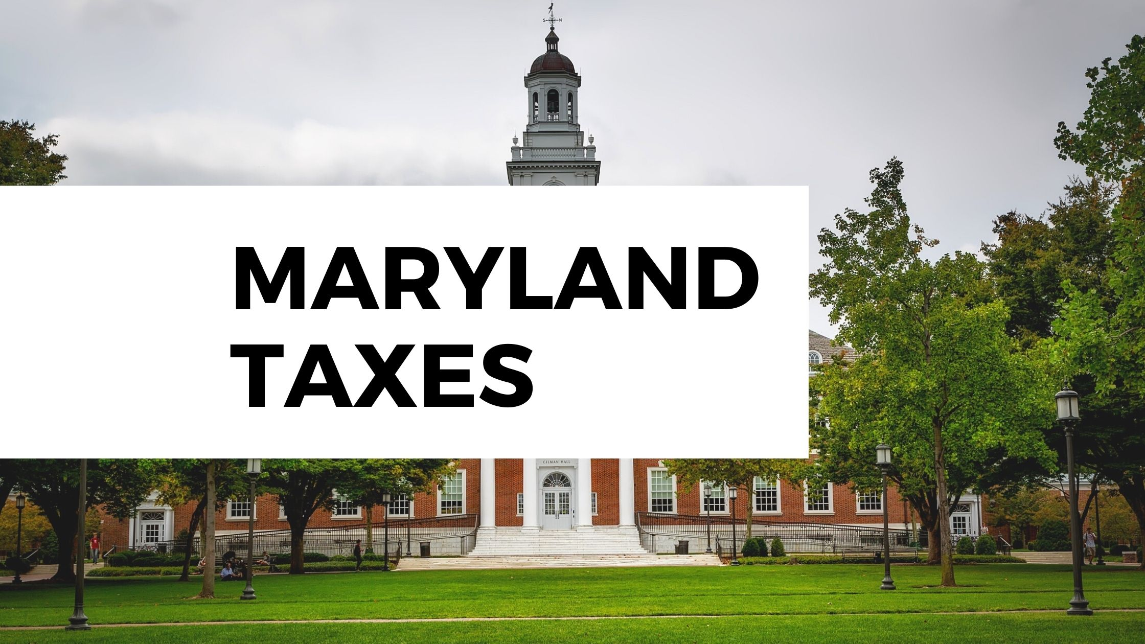 Maryland Income Tax Update, December Webinar
